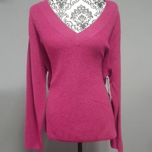 NWT Pink Vince Camuto XL Beautiful Spring Sweater